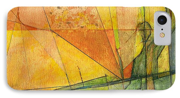 IPhone Case featuring the painting Abstract #11 by Robert Anderson