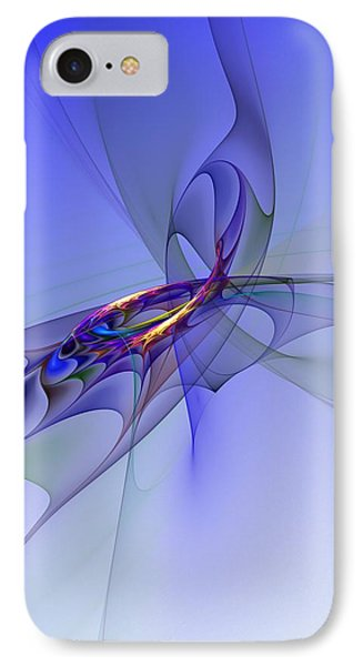 Abstract 110210 IPhone Case by David Lane