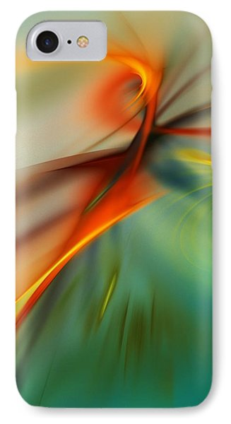 Abstract 110910b Phone Case by David Lane