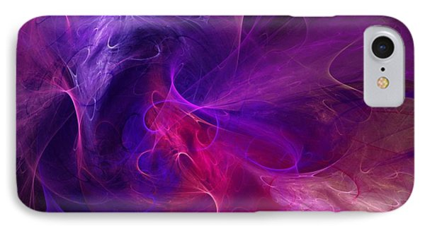 Abstract 111310b IPhone Case by David Lane
