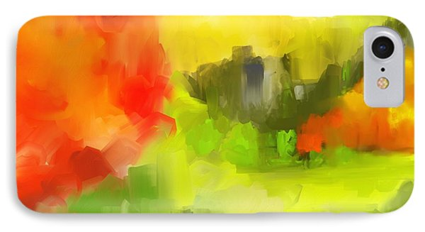 Abstract 112210 Phone Case by David Lane