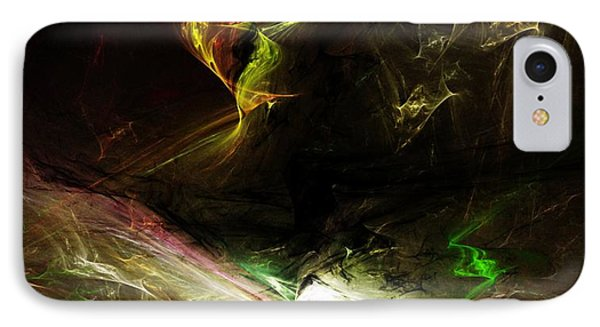 Abstract 112410 IPhone Case by David Lane