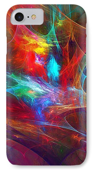 Abstract 112510 IPhone Case by David Lane