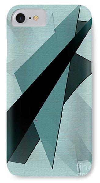 Abstract 25 IPhone Case by John Krakora