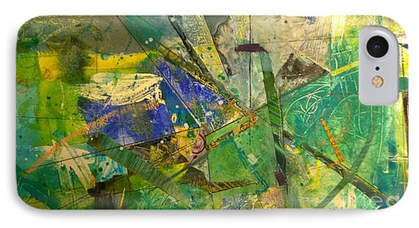 IPhone Case featuring the painting Abstract #41715 by Robert Anderson