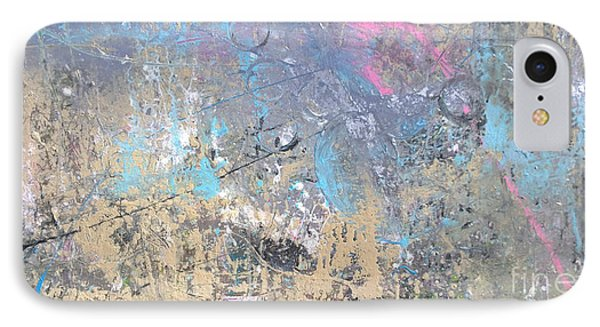 IPhone Case featuring the painting Abstract #42115a by Robert Anderson