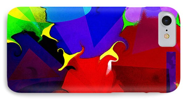 Abstract 6 IPhone Case by Timothy Bulone