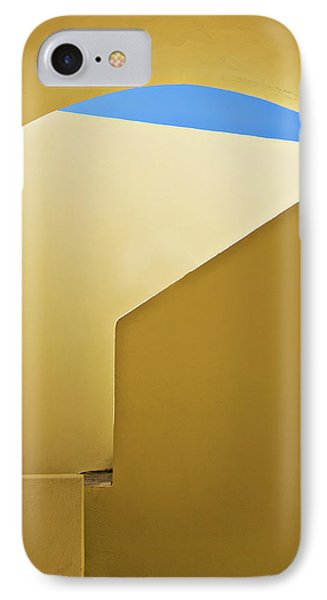 Abstract Architecture In Yellow Phone Case by Meirion Matthias