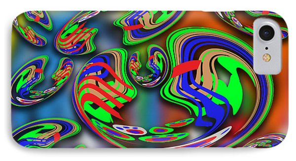 Abstract Art 002 IPhone Case by Ralph Klein