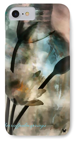 Abstract Art  A Special Place In Heaven IPhone Case by Sherri's Of Palm Springs