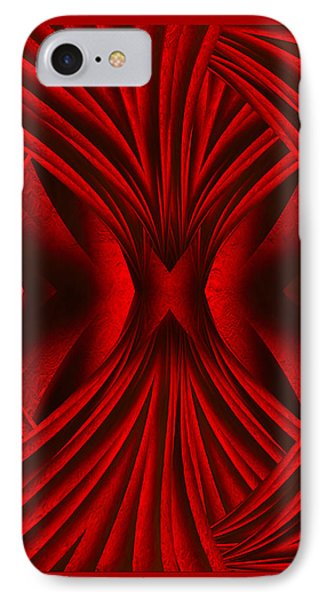 Abstract Art - Hot Secrets By Rgiada IPhone Case by Giada Rossi