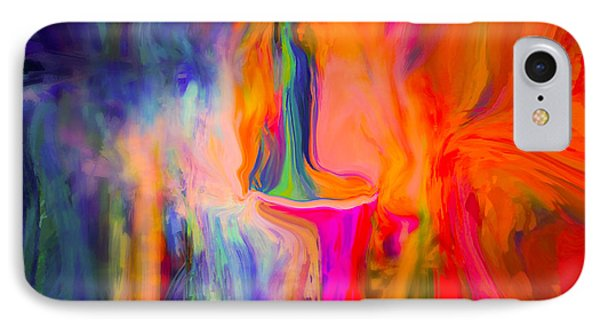 Abstract Art  Waiting IPhone Case by Sherri's Of Palm Springs
