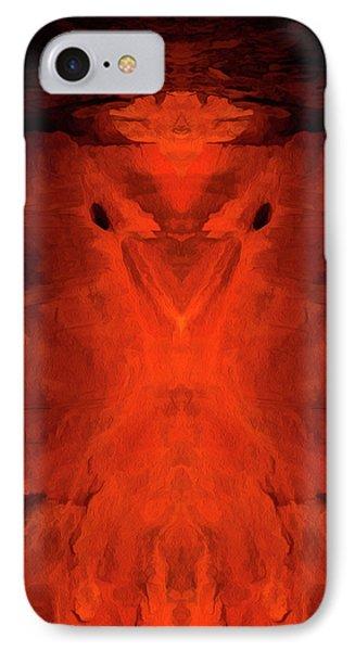 Abstract Bird 01 IPhone Case by Scott McAllister