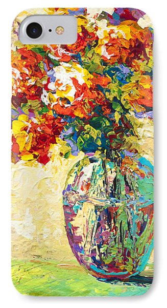 Abstract Boquet Iv IPhone Case by Marion Rose