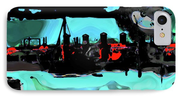 Abstract Bridge Of Lions IPhone Case by Gina O'Brien