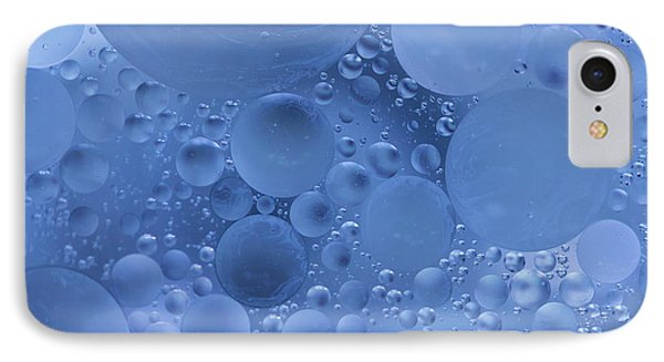 Abstract Bubbles  IPhone Case by Masako Metz