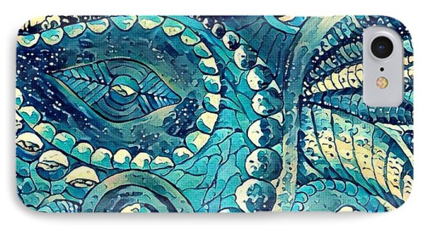 Abstract C IPhone Case by Megan Walsh