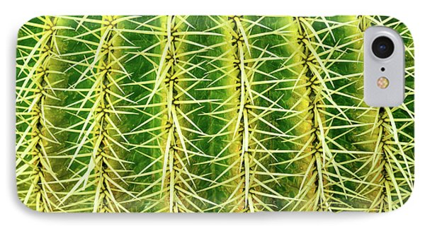 Abstract Cactus IPhone Case by Delphimages Photo Creations