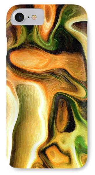 Abstract Cannibalism IPhone Case