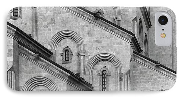 Abstract Cathedral IPhone Case by Traveled Walls