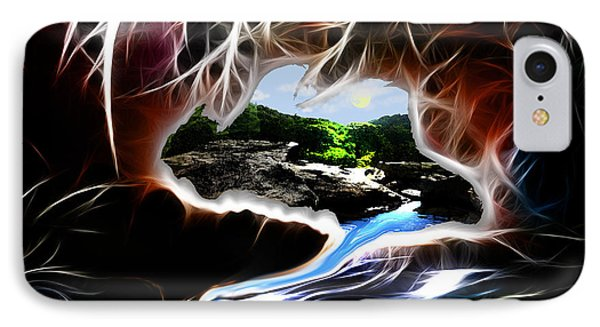 Abstract-cavern Phone Case by Patricia Motley
