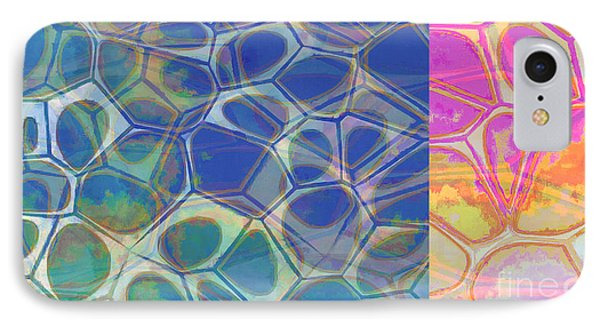 Abstract Cells 6 IPhone Case by Edward Fielding