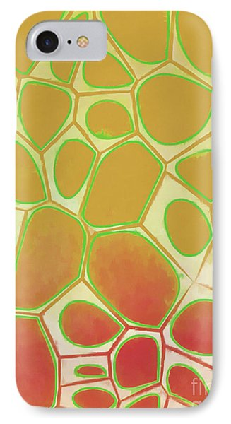 Abstract Cells 2 IPhone Case by Edward Fielding