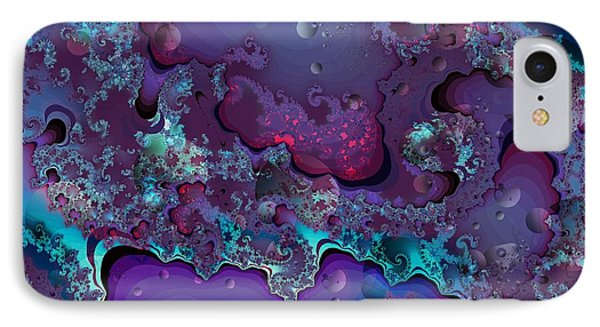 Abstract Chaotic IPhone Case by Michelle H