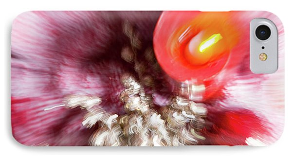 IPhone Case featuring the photograph Abstract Christmas 4 by Rebecca Cozart