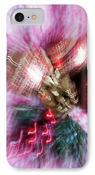 IPhone Case featuring the photograph Abstract Christmas 5 by Rebecca Cozart