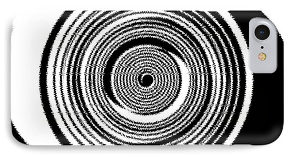 Abstract Clock Spring Phone Case by Will Borden