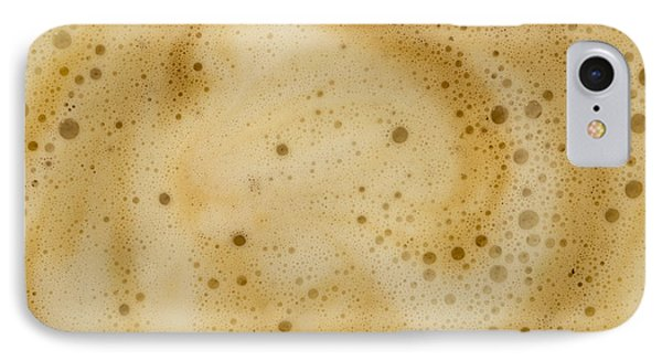 IPhone Case featuring the photograph Abstract Coffee by Brian Roscorla