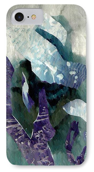 Abstract Construction IPhone Case by Sarah Loft