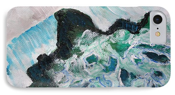 Abstract Crashing Waves IPhone Case