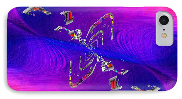 IPhone Case featuring the digital art Abstract Cubed 350 by Tim Allen