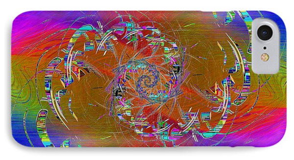 IPhone Case featuring the digital art Abstract Cubed 351 by Tim Allen