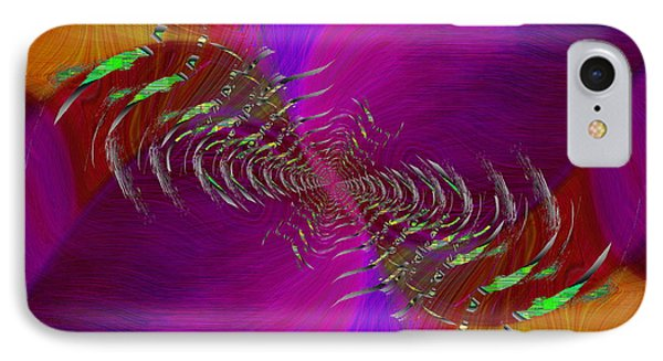 IPhone Case featuring the digital art Abstract Cubed 352 by Tim Allen