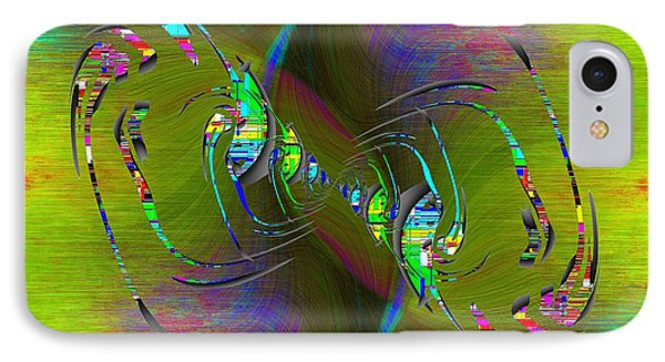 IPhone Case featuring the digital art Abstract Cubed 361 by Tim Allen