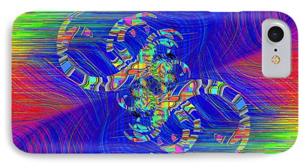 IPhone Case featuring the digital art Abstract Cubed 362 by Tim Allen
