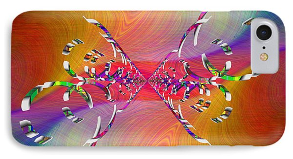 IPhone Case featuring the digital art Abstract Cubed 364 by Tim Allen