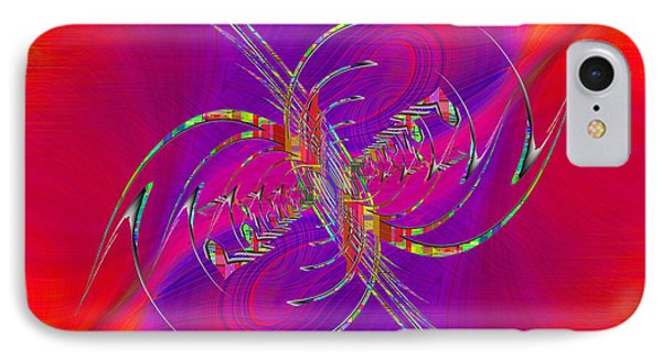 IPhone Case featuring the digital art Abstract Cubed 365 by Tim Allen