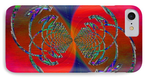 IPhone Case featuring the digital art Abstract Cubed 366 by Tim Allen
