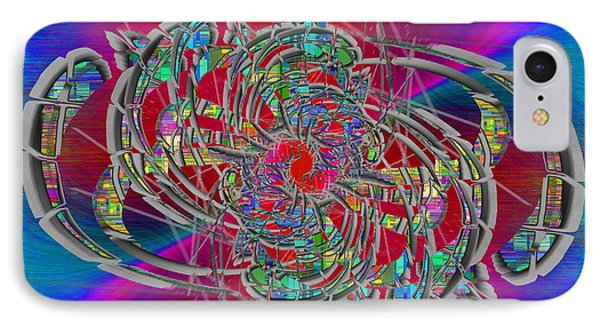 IPhone Case featuring the digital art Abstract Cubed 367 by Tim Allen