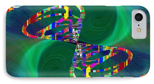 IPhone Case featuring the digital art Abstract Cubed 374 by Tim Allen