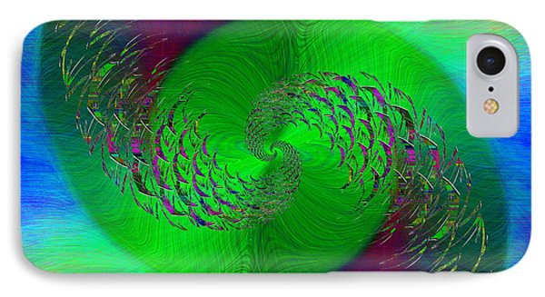 IPhone Case featuring the digital art Abstract Cubed 378 by Tim Allen