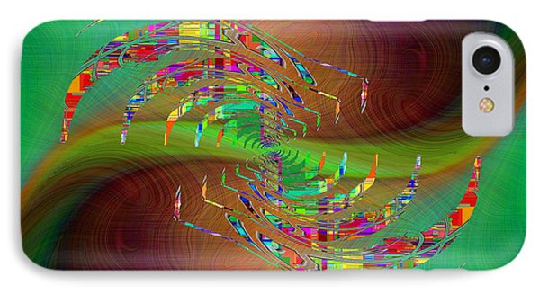 IPhone Case featuring the digital art Abstract Cubed 379 by Tim Allen