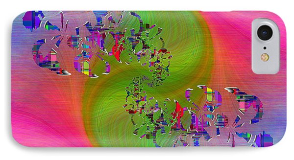 IPhone Case featuring the digital art Abstract Cubed 381 by Tim Allen