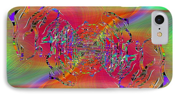 IPhone Case featuring the digital art Abstract Cubed 382 by Tim Allen