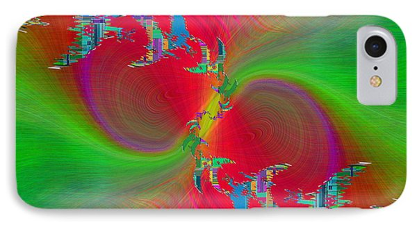 IPhone Case featuring the digital art Abstract Cubed 383 by Tim Allen
