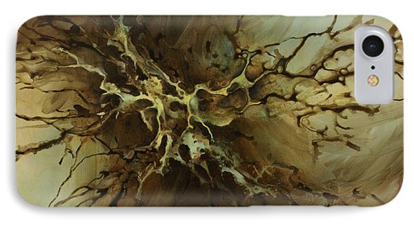 Abstract Design 107 IPhone Case by Michael Lang